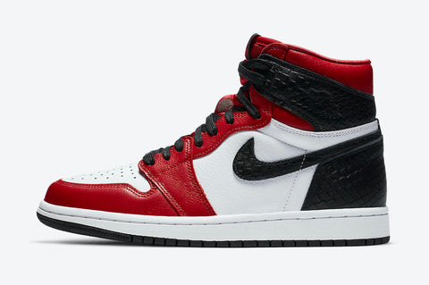 Jordan 1 High Satin Snake Chicago Women's