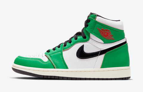 Jordan 1 High Lucky Green Women's