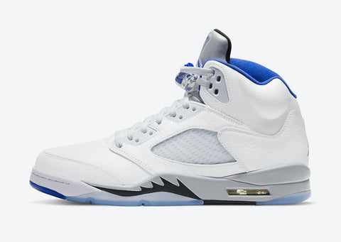 Jordan 5 Retro White Stealth