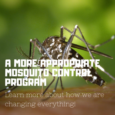 A More Appropriate Mosquito Control Program