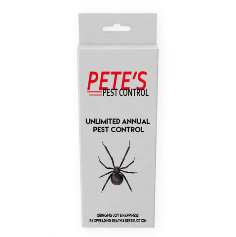 Unlimited Annual Pest Control