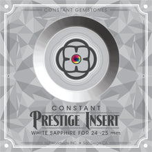 Load image into Gallery viewer, Prestige Sapphire Insert for 25mm