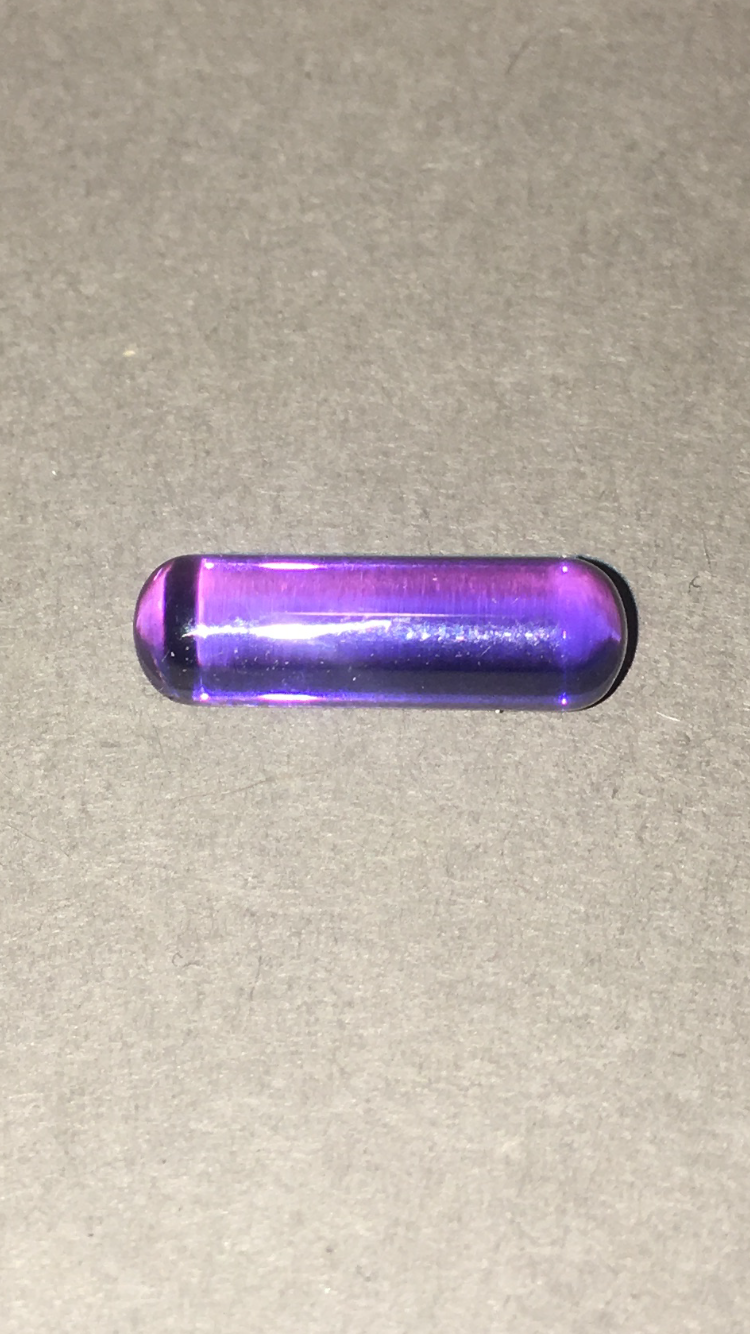 Exotic Purple Sapphire Steam Rollers