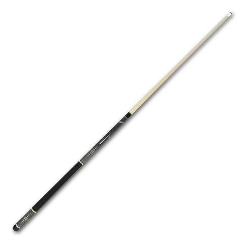 Cuetec Warrior Series 58 Inch Two Piece Cue - Brown and White