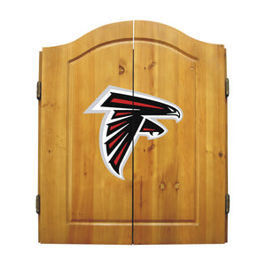 Atlanta Falcons Dart Cabinet Set