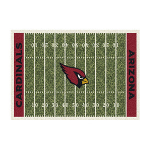 Imperial USA Arizona Cardinals 4 Foot by 6 Foot Home Field Rug