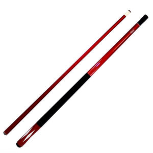 Cuetec Platinum Diamond Laser 58 Inch Two Piece Cue - Red