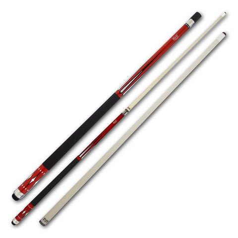 Cuetec Starlight Series 58 Inch Two Piece Cue - Red