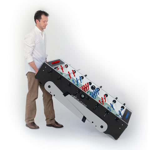 Imperial USA Garlando Foldy Evolution Foosball Table - Rollers Attached