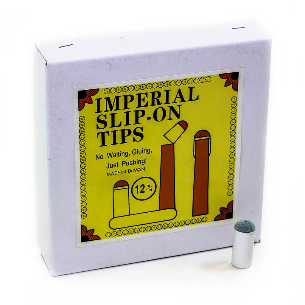 Imperial USA Imperial Economy 14mm Slip on Cue Tips - Box Of 100