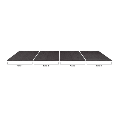 Imperial USA Reno 7 Foot Dining Top - Dimensions