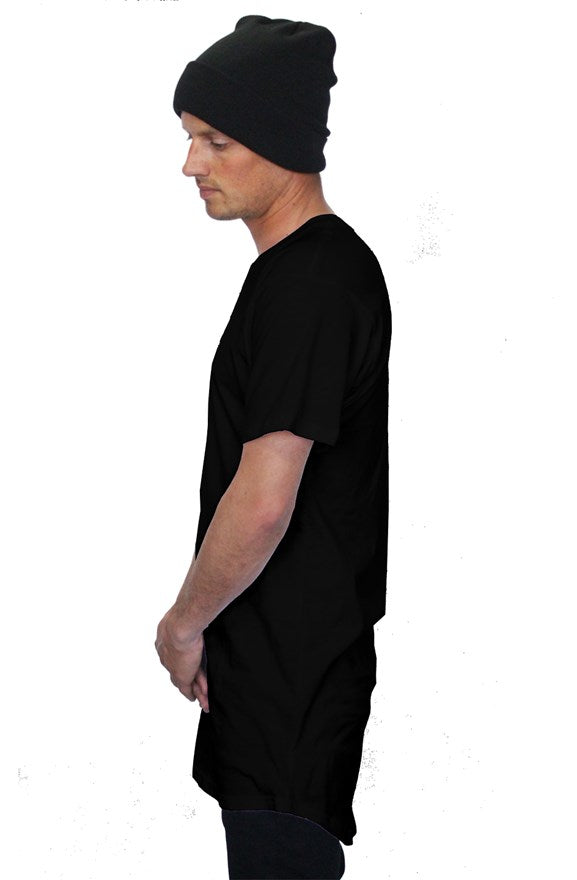 SpaceKitty Co. Pocket Logo Long Tee