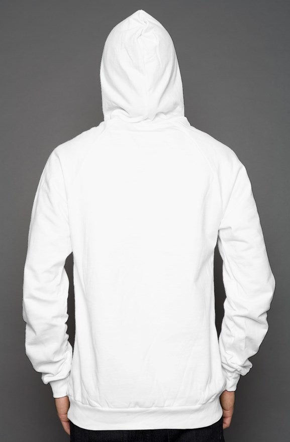 White Red Lady Tearz Hoodie