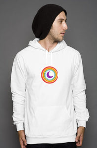SpaceKittyCo Love is Love PRIDE Hoodie, E-Girl/E-Boy Hoodie, Alternative Fashion Brand