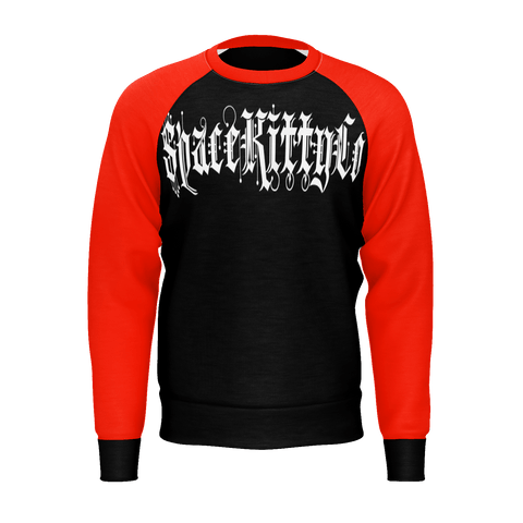 Bloody Trash Black & Red Jumper/Sweatshirt, E-Girl/E-Boy Jumpers/Sweatshirts, Alternative Fashion Brand
