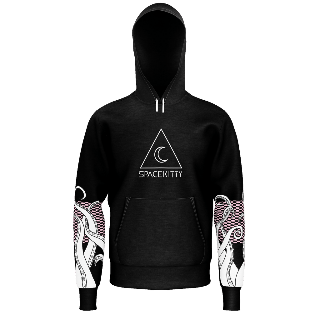 Space Tentacle Hoodie Black