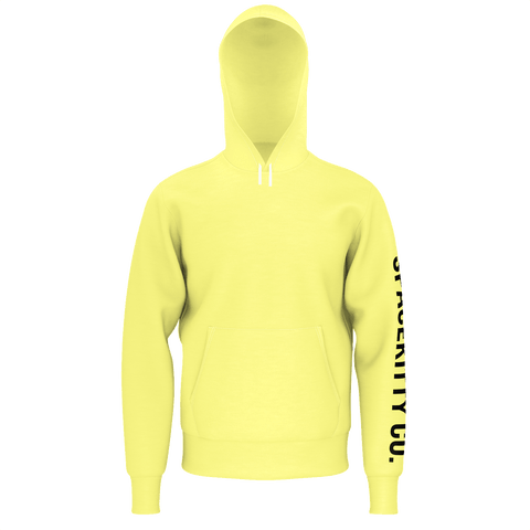 SpaceKittyCo Buttercup Yellow Hoodie, E-Girl/E-Boy Hoodie, Alternative Fashion Brand