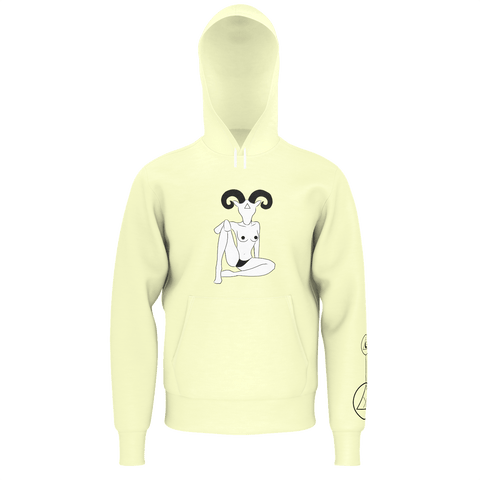 SpaceKittyCo Buttercup Death Ram Hoodie, E-Girl/E-Boy Hoodie, Alternative Fashion Brand