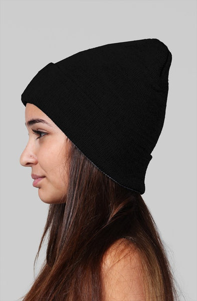 SpaceKittyCo Bloody Trash Black Beanie, E-Girl/E-Boy Fashion, Alternative Clothing Brand Grunge Fashion