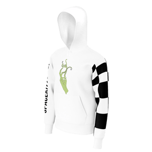 Sea Witch Check Arm Hoodie