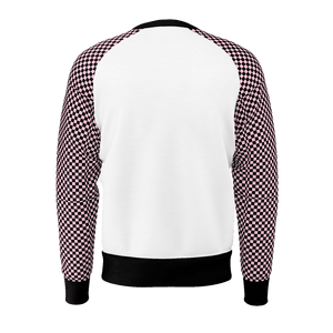 Pink Check Jumper