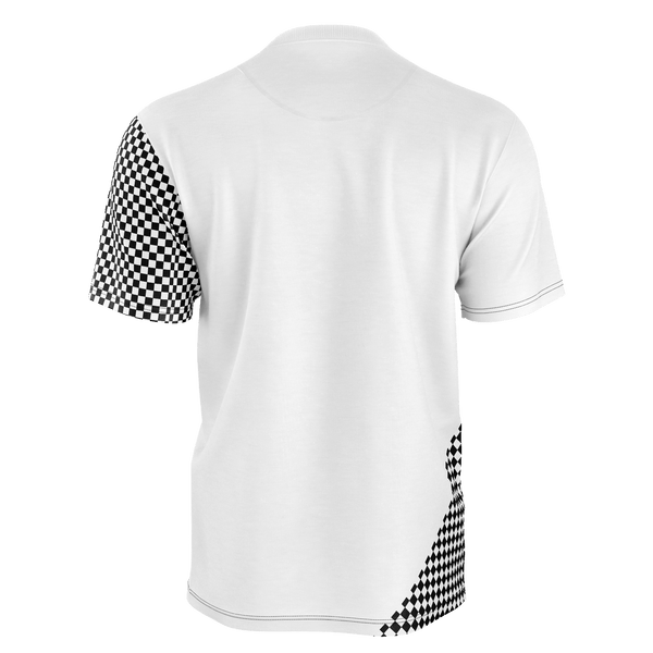SpaceKittyCo Black & White Checker Ram T-Shirt, E-Girl/E-Boy Fashion, Alternative Clothing Brand Grunge Fashion
