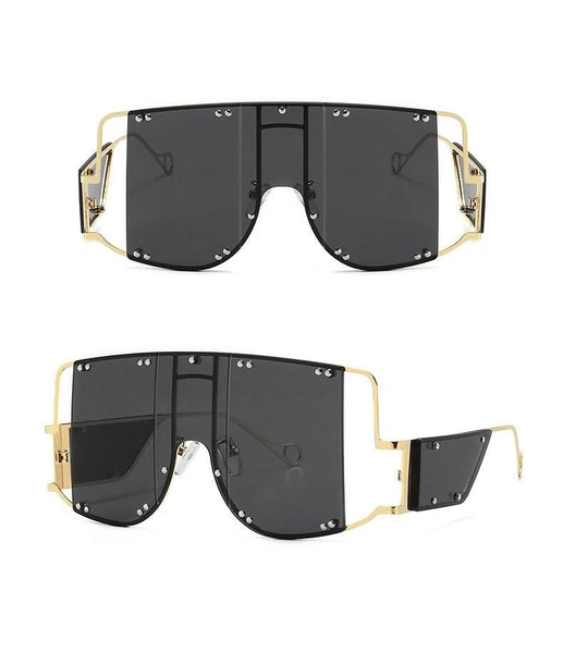 Shield Shades, Alternative Fashion Sunglasses