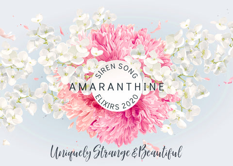 Amaranthine floral perfume collection (Jasmine, Orange blossom, Lotus, Hibiscus, Magnolia, Rose, Honeysuckle, Lilac, Orchid, Peony)