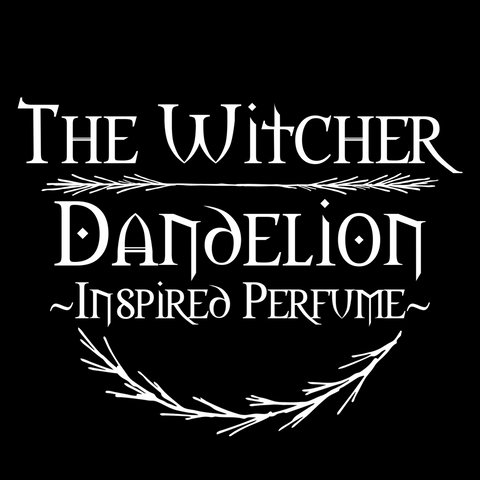 Dandelion inspired perfume (Dandelions, Honey, Amber, Incense, French lavender, Leather, Velvet)