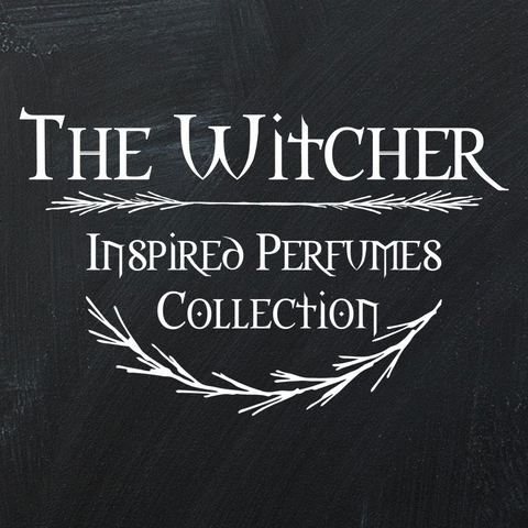 The Witcher Inspired Perfume Gift Set (choose 4)