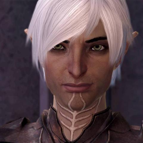 Lyrium Ghost / Dragon Age Fenris (Cool blue musk, Mint, Gardenia, White Wine, Fresh Rain)