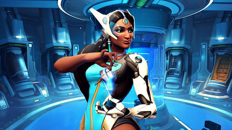 Symmetra / Overwatch (Blue musk, Forget-me-nots, Green tea, Lavender, Peppermint)