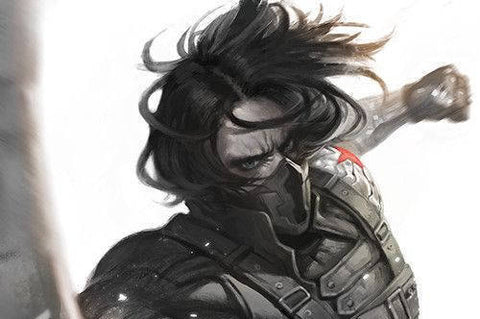 Winter Soldier (Frozen musk, Steel, Dark ozone, Gunpowder, Industrial, Black leather)
