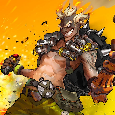 Junkrat / Overwatch (Kettle corn, Funnel Cakes, Cotton Candy, Coal, Oil, Gunpowder)