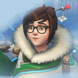 Mei / Overwatch (Frozen snow, Vanilla, Dark Chocolate, Coconut, Pineapple)