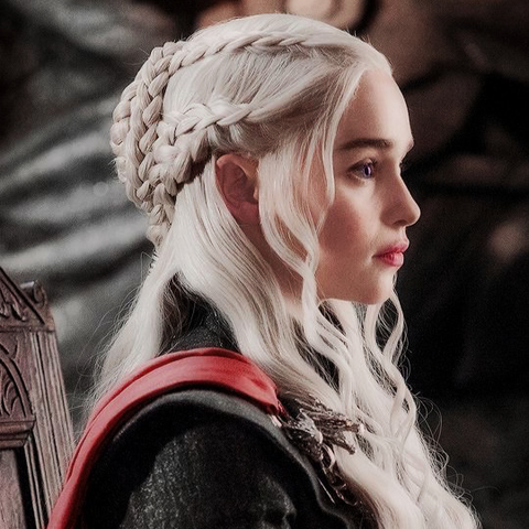 Daenerys Targaryen/Game of Thrones (Iris, Alyssum, Wild rose, Dragon's blood, Patchouli)