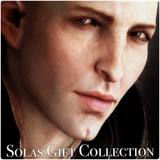 Solavellan Gift Set - a Dragon Age Solas inspired perfume gift collection