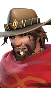 McCree / Overwatch (Leather, Tobacco, Gunpowder, Musk)
