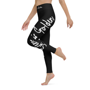 Silence is Golden - Yoga Leggings