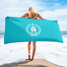 Load image into Gallery viewer, ASA Badge - Teal Sublimation Towel