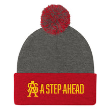 Load image into Gallery viewer, A Step Ahead - Pom Pom Knit Cap Beanie