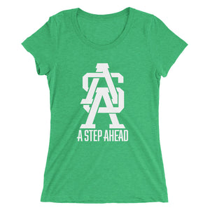 A Step Ahead Monogram - Women's Short Sleeve T-Shirt