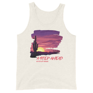 Better Left Unsaid, Desert Scape - Unisex Tank Top