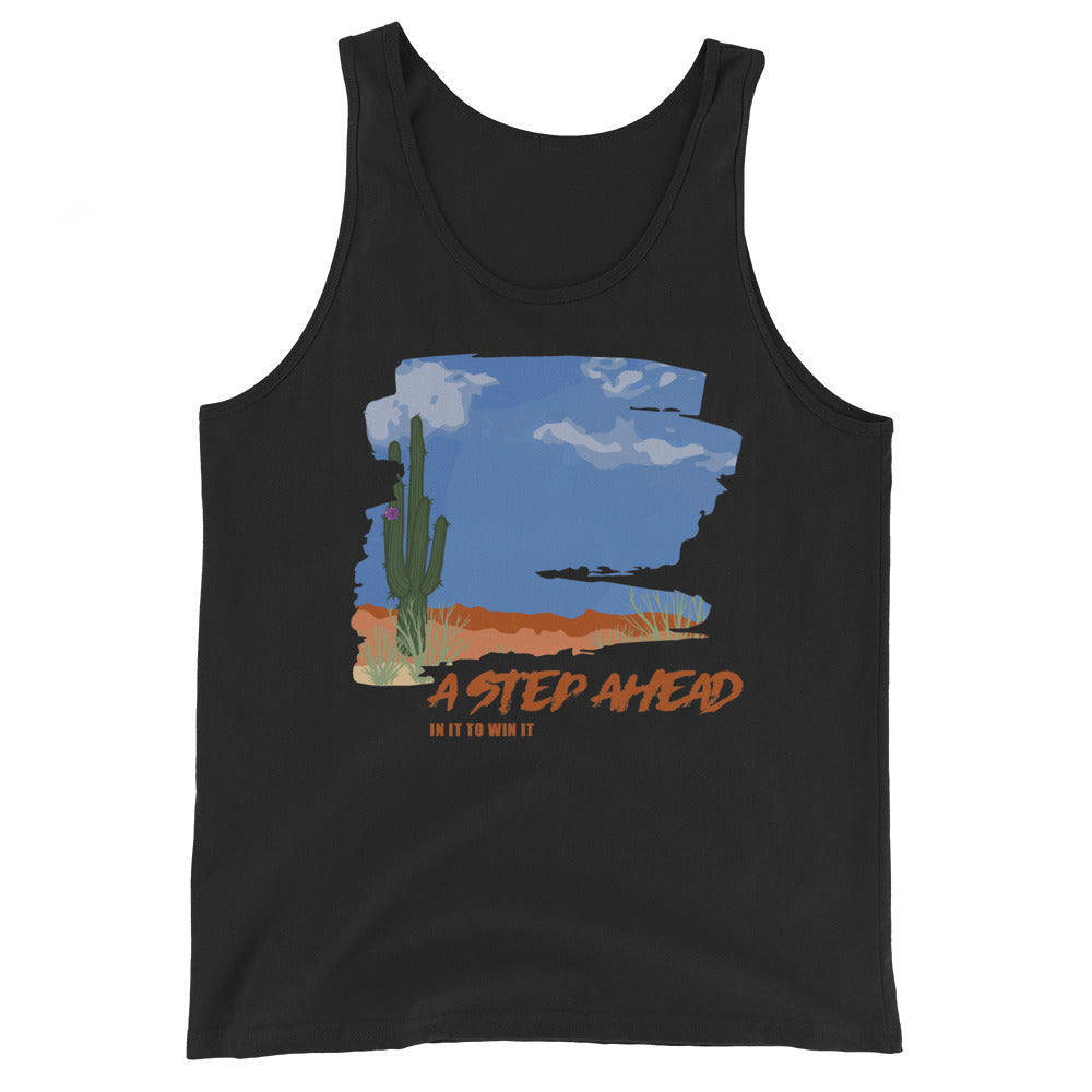 In It to Win It, Desert Scape - Unisex Tank Top