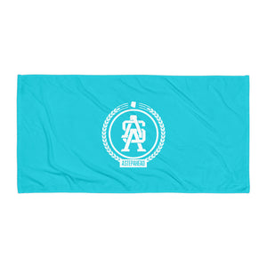 ASA Badge - Teal Sublimation Towel