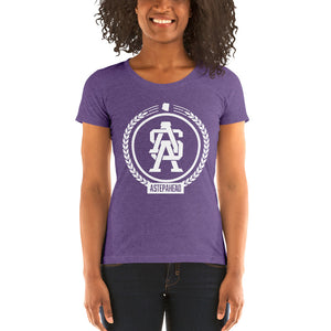 ASA Badge - Ladies' short sleeve t-shirt