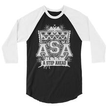 Load image into Gallery viewer, ASA Crest - 3/4 Sleeve Baseball Tee
