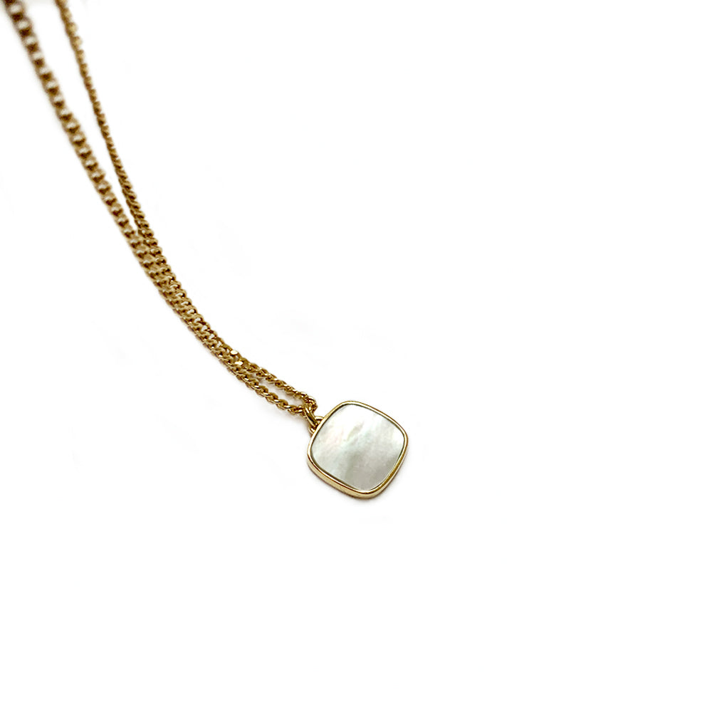 Collier N° 3 - Nacre blanche