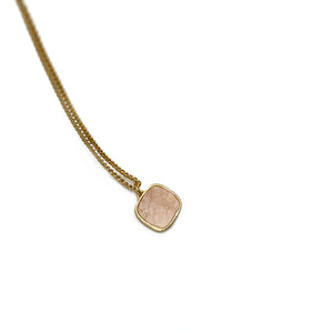 Collier N° 3 - Quartz rose