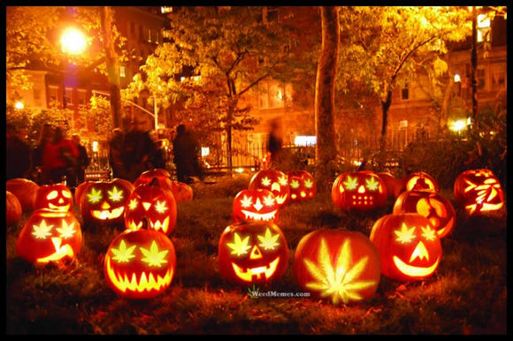 Happy Hallo-WEED! 4 ways to Celebrate Halloween with Cannabis